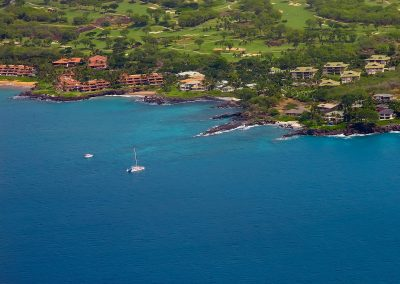 Makena Surf E206 aerial View